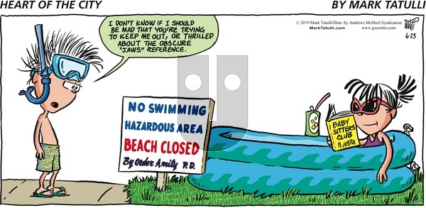 Heart of the City on Sunday June 23, 2019 Comic Strip