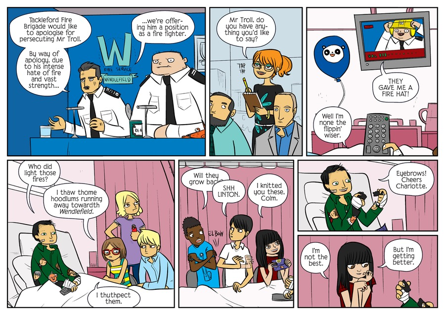 Bad Machinery Comic Strip for September 15, 2021