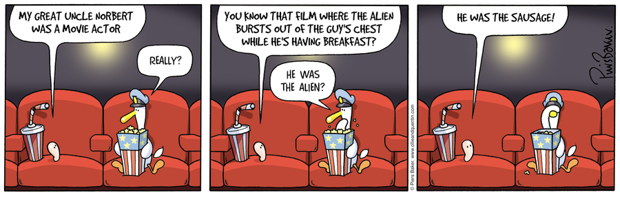 Ollie and Quentin for Aug 7, 2012 Comic Strip