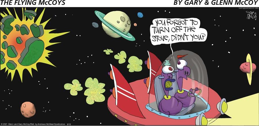 The Flying McCoys Comic Strip for September 12, 2021