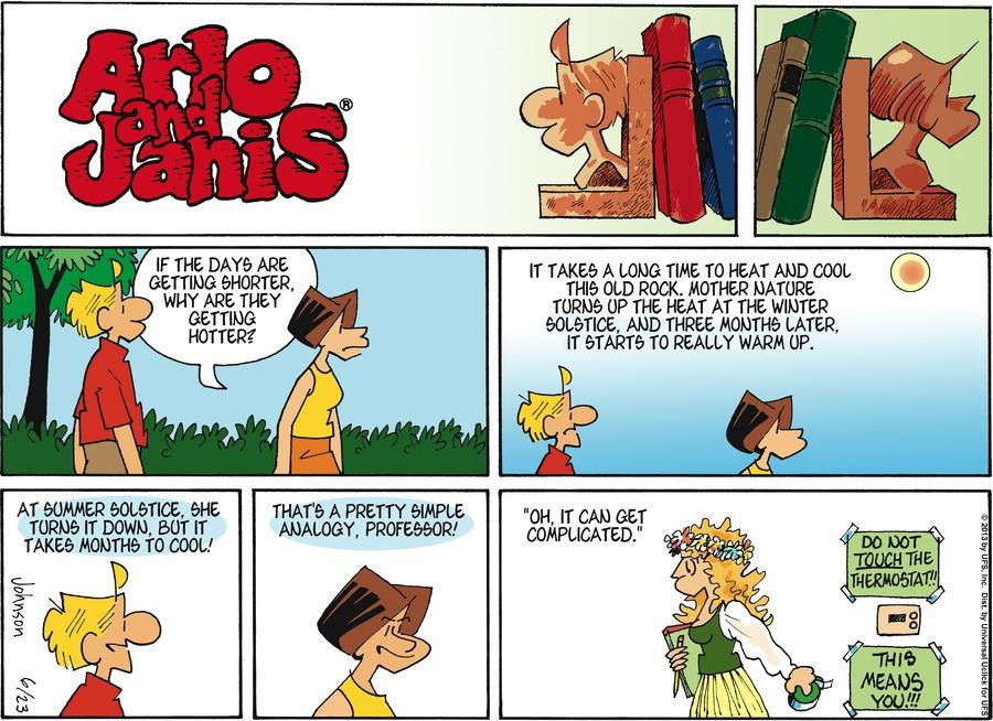 Arlo and Janis for Jun 23, 2013 Comic Strip