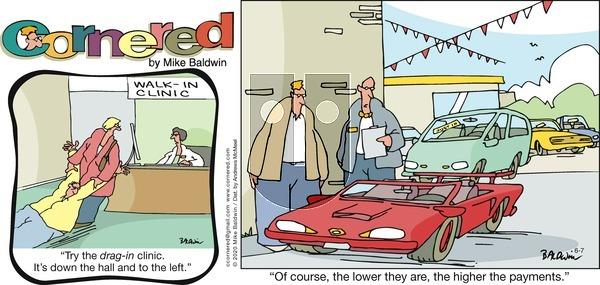 Cornered on Sunday June 7, 2020 Comic Strip