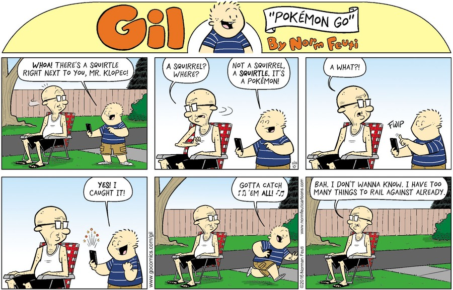 Gil Comic Strip for August 23, 2020