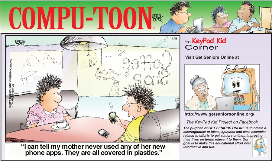 Compu-toon Comic Strip for January 17, 2021