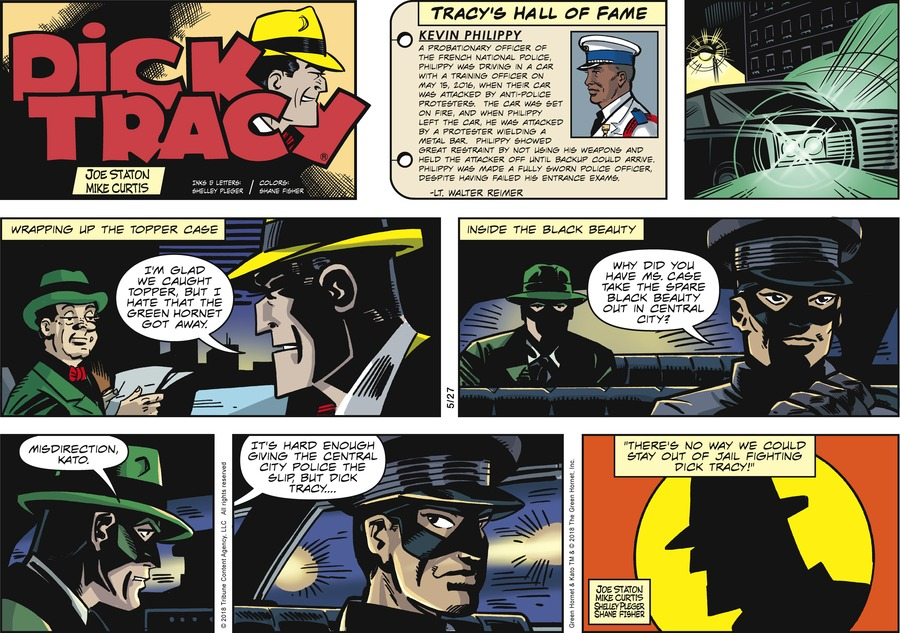 Dick Tracy for May 27, 2018 Comic Strip