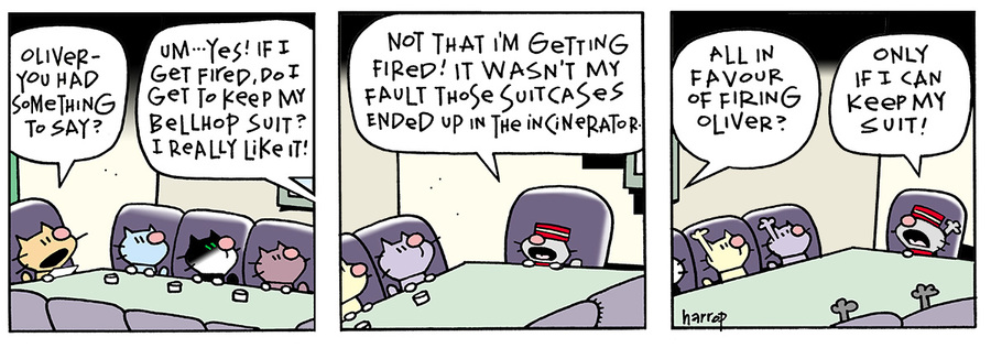 Ten Cats for Apr 19, 2013 Comic Strip