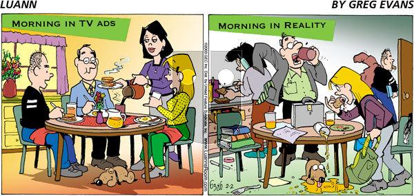Luann - Sunday February 2, 2003 Comic Strip