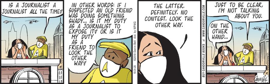 Candorville Comic Strip for October 31, 2020