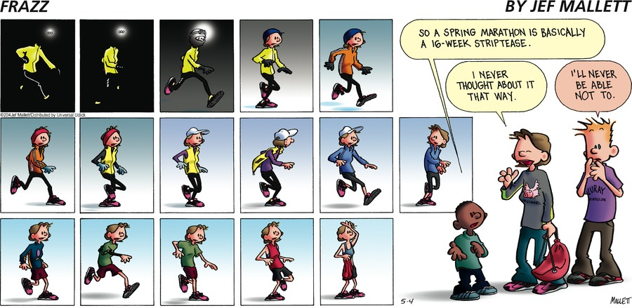 Frazz for May 4, 2014 Comic Strip