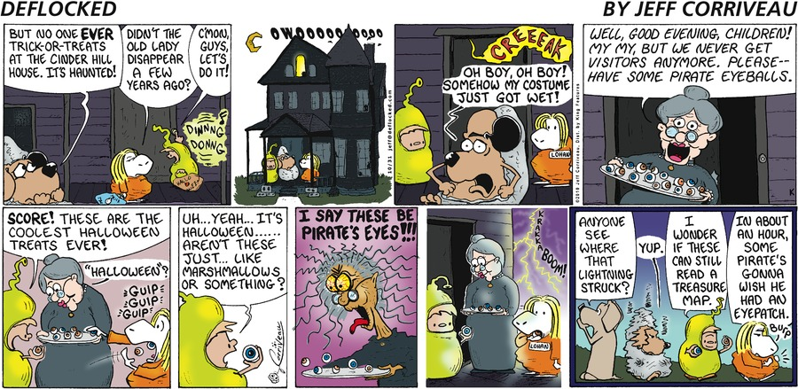 DeFlocked for Oct 31, 2010 Comic Strip