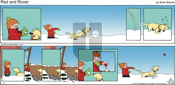 Red and Rover on Sunday January 13, 2019 Comic Strip