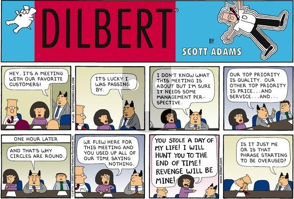 Dilbert - Sunday April 28, 2002 Comic Strip