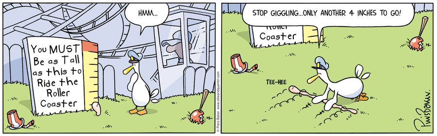 Ollie and Quentin for Aug 3, 2012 Comic Strip