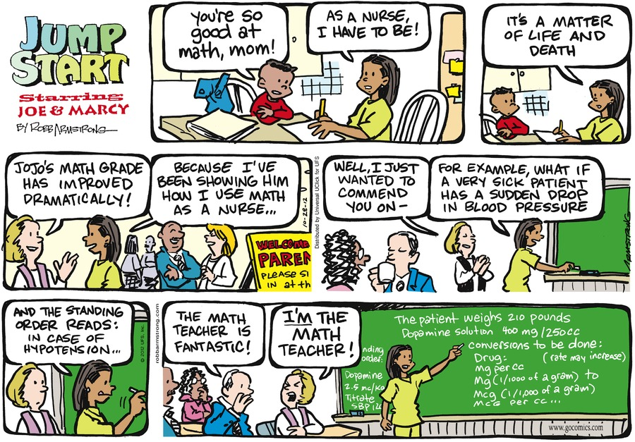 JumpStart Comic Strip for October 28, 2012