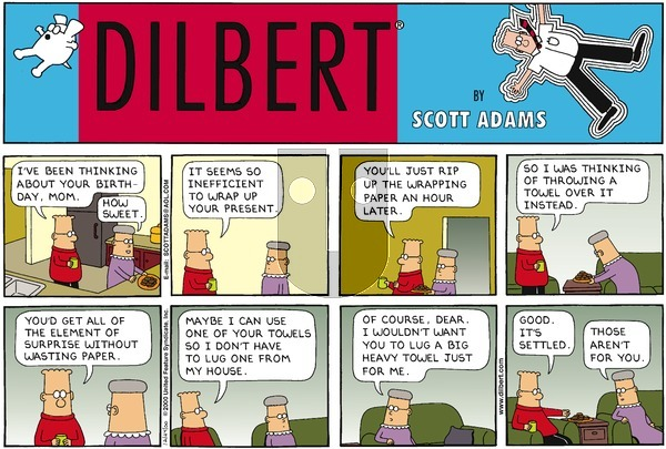 Dilbert - Sunday December 24, 2000 Comic Strip