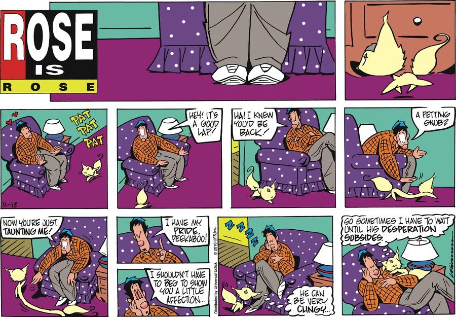 Rose is Rose for Nov 13, 2016 Comic Strip