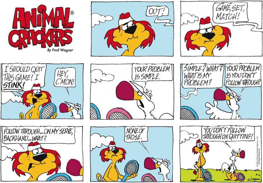 Animal Crackers for Oct 6, 2013 Comic Strip