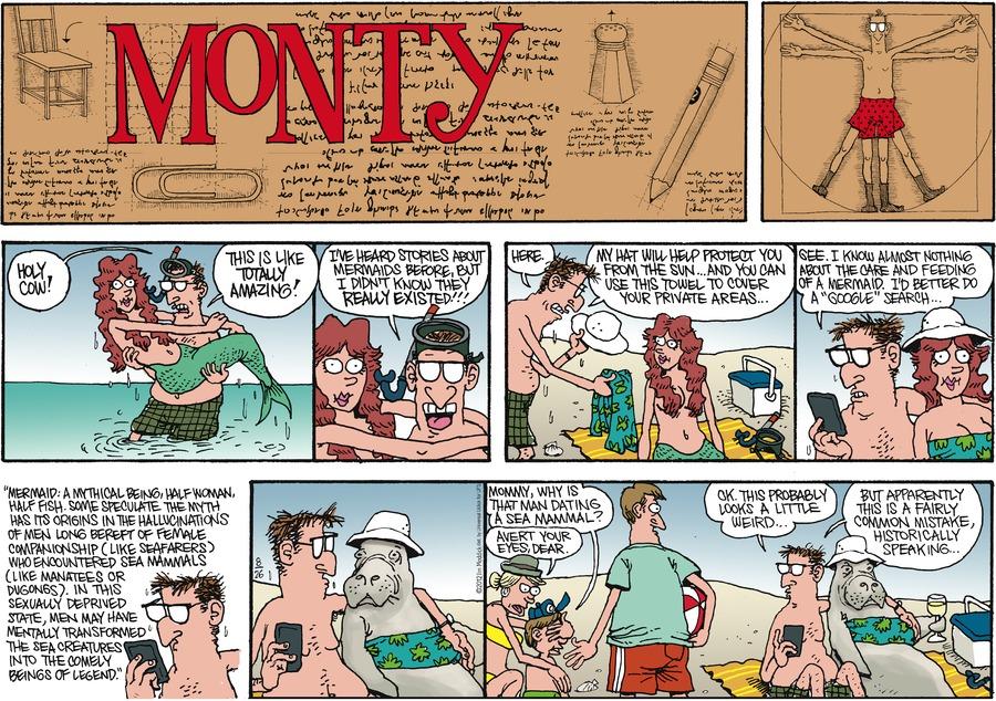 Monty for Aug 26, 2012 Comic Strip