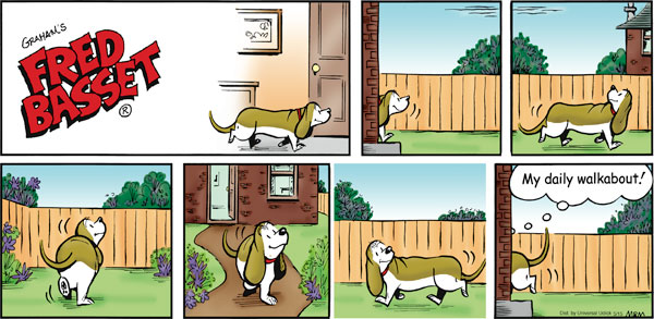 Fred Basset Comic Strip for May 15, 2011