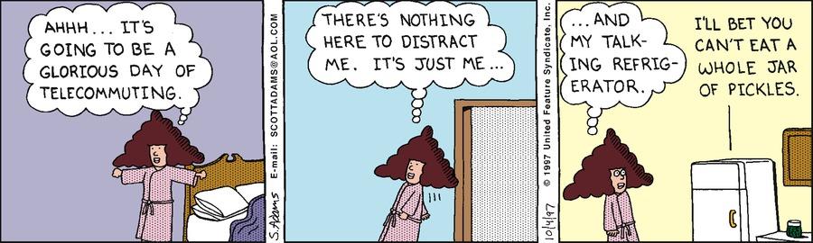 Dilbert Classics Comic Strip for September 05, 2021