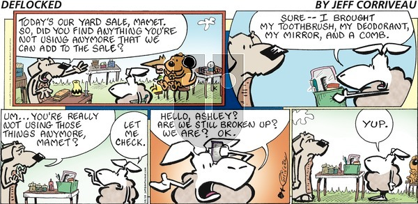 DeFlocked on Sunday October 18, 2020 Comic Strip