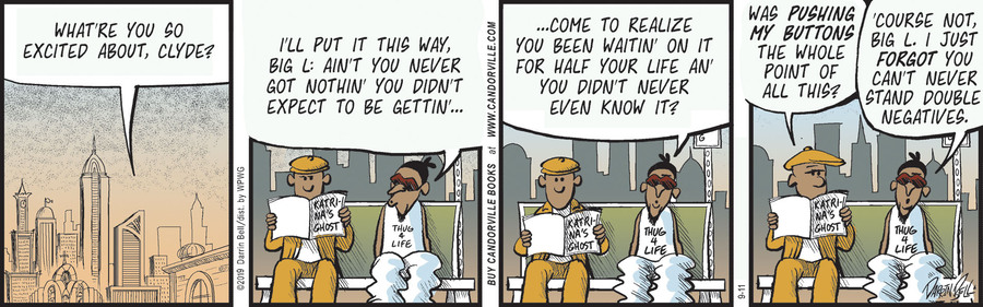Candorville Comic Strip for September 11, 2019
