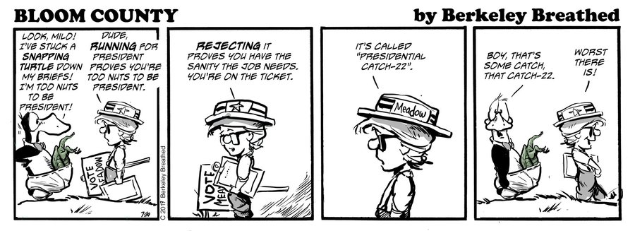 Bloom County 2019 by Berkeley Breathed for July 03, 2019