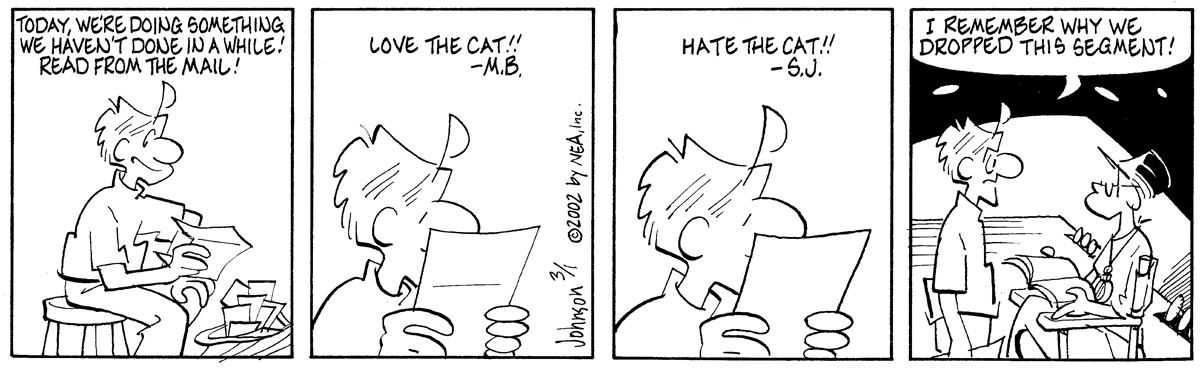 Arlo and Janis Comic Strip for March 01, 2002