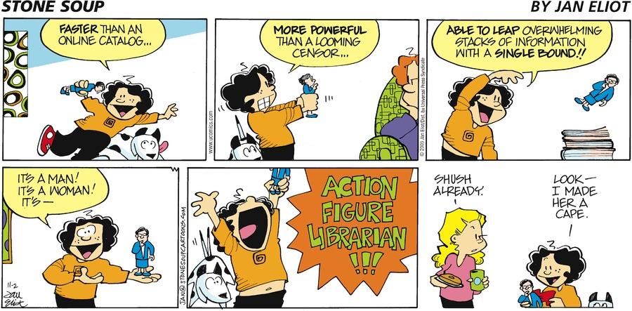 Stone Soup Comic Strip for November 02, 2003