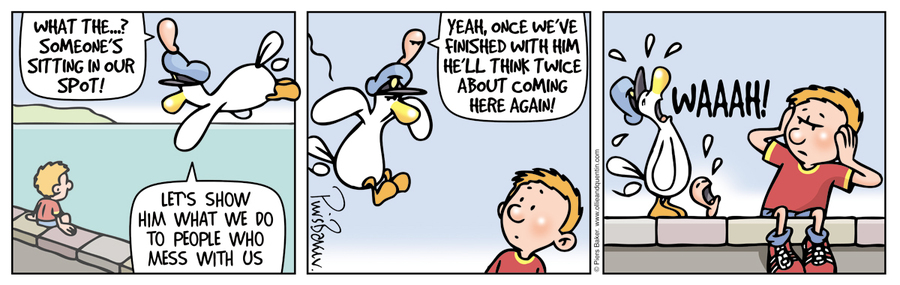 Ollie and Quentin Comic Strip for December 06, 2019