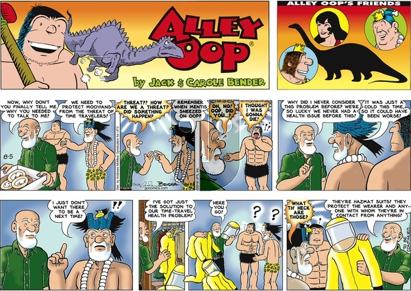 Alley Oop on Sunday August 5, 2018 Comic Strip