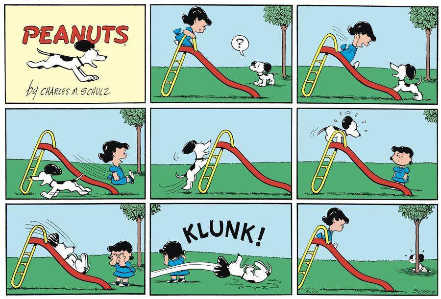 Peanuts Begins Comic Strip for September 24, 2021