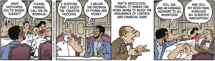 Alley Oop Comic Strip for March 03, 2021