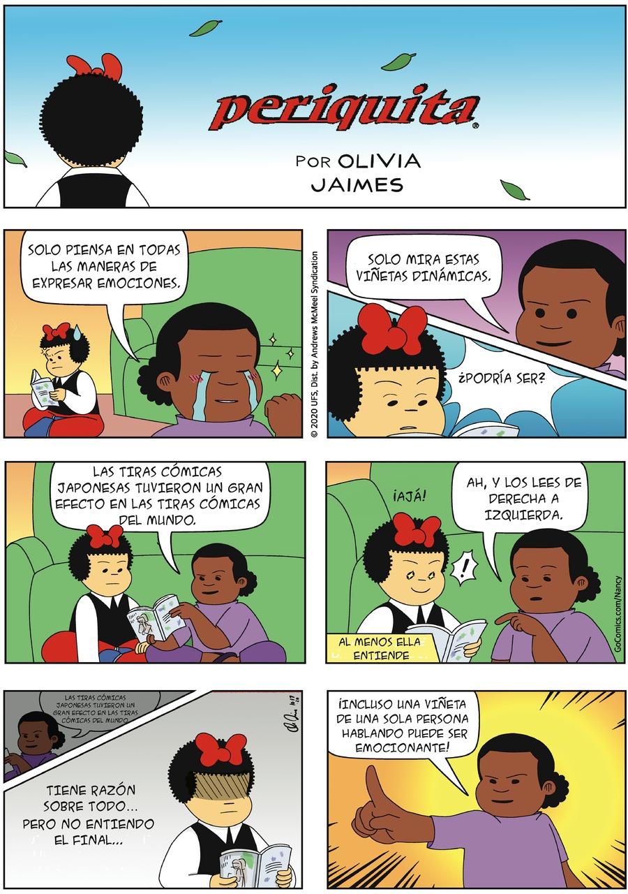 Periquita Comic Strip for October 18, 2020
