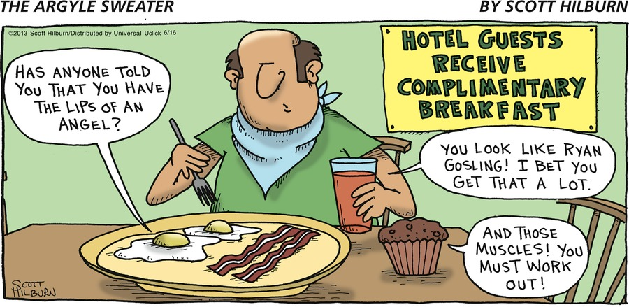 The Argyle Sweater Comic Strip for June 16, 2013