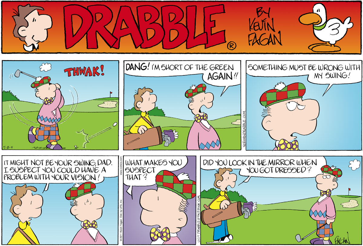 Drabble for May 8, 2011 Comic Strip
