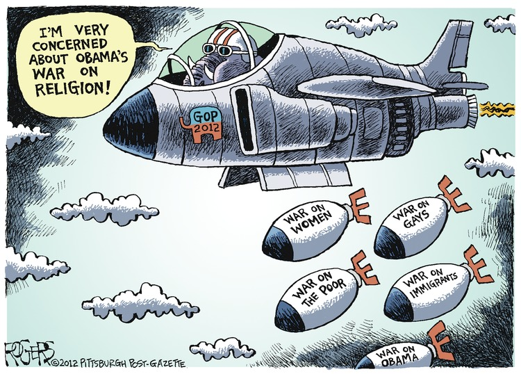 Rob Rogers Comic Strip for February 19, 2012