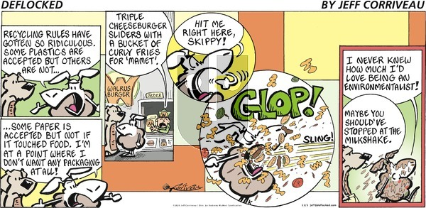 DeFlocked on Sunday November 1, 2020 Comic Strip