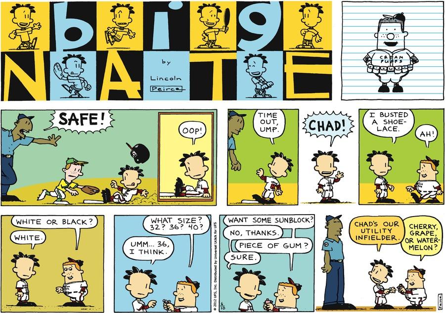 Big Nate Comic Strip for June 10, 2012