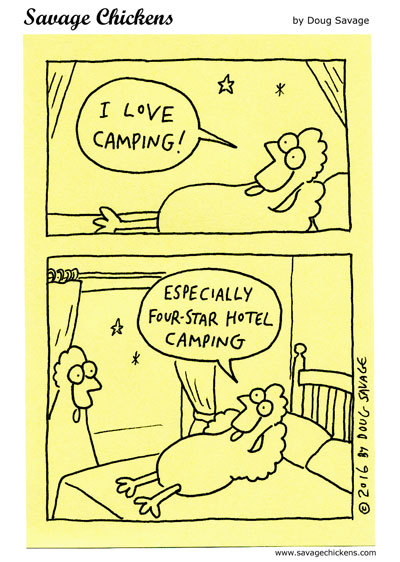 Savage Chickens Comic Strip for May 22, 2020