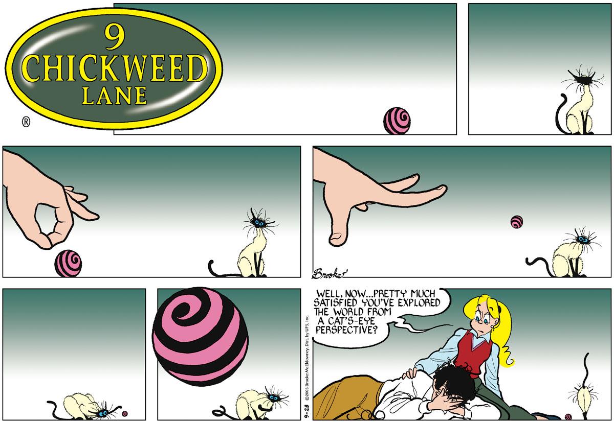 9 Chickweed Lane for Sep 28, 2003 Comic Strip