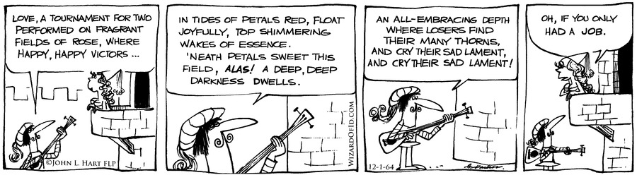 Wizard of Id Classics Comic Strip for November 30, 2014