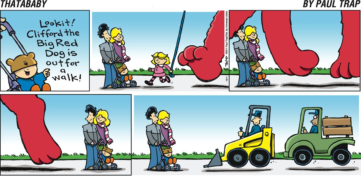 Thatababy for Dec 11, 2011 Comic Strip