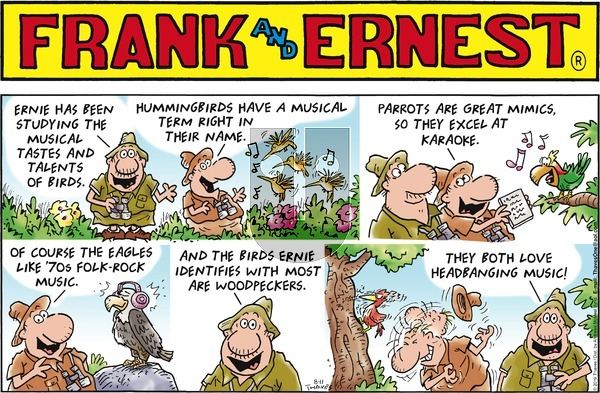 Frank and Ernest on Sunday August 11, 2019 Comic Strip