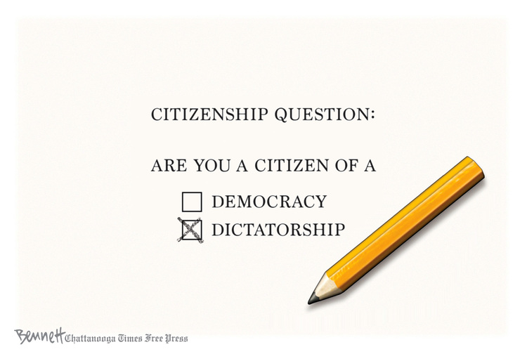 Clay Bennett Comic Strip for July 14, 2019