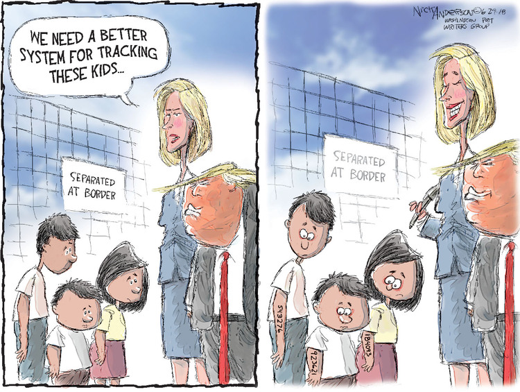 Nick Anderson Comic Strip for June 29, 2018