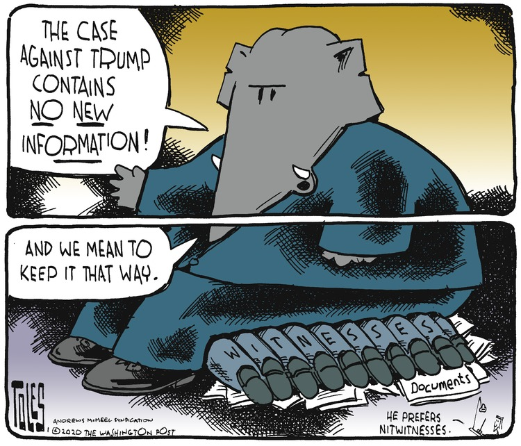 Tom Toles Comic Strip for January 26, 2020
