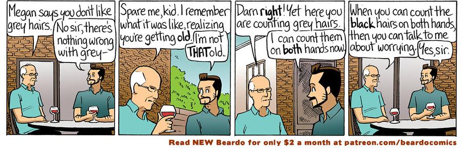 Beardo Comic Strip for April 12, 2021