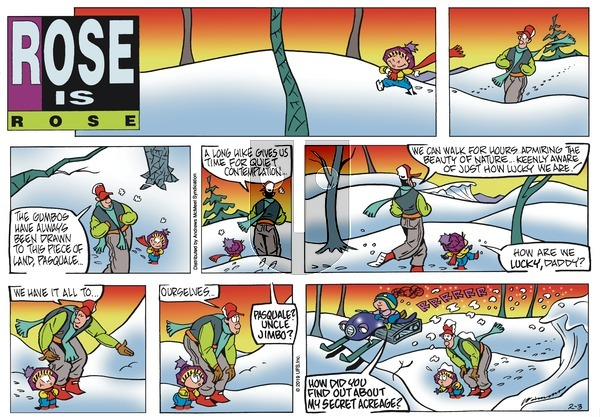Rose is Rose - Sunday February 3, 2019 Comic Strip