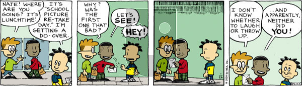 Big Nate on Monday January 26, 2009 Comic Strip